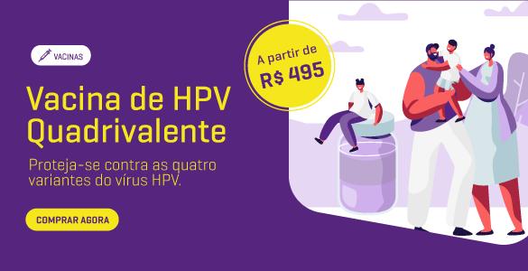 Anúncio de HPV Quadrivalente