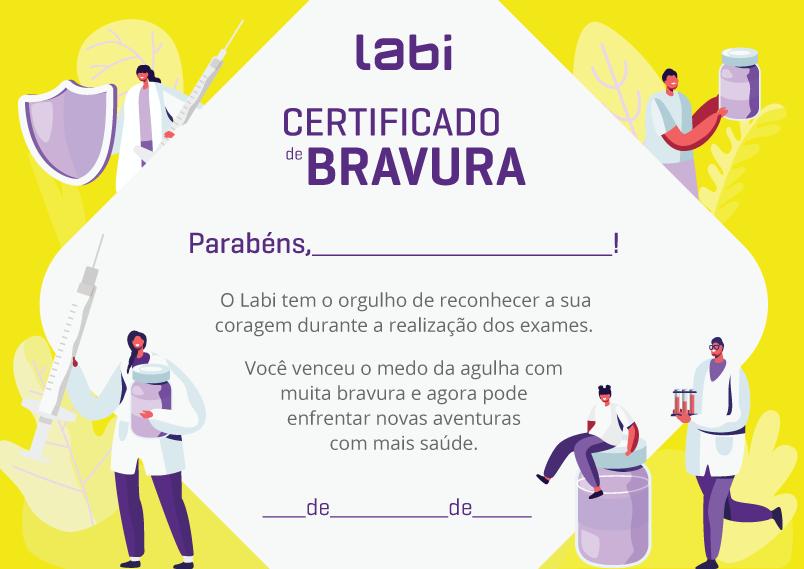 Certificado de Bravura Labi