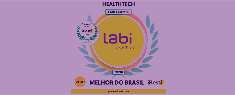 Labi Top10 prêmio iBest