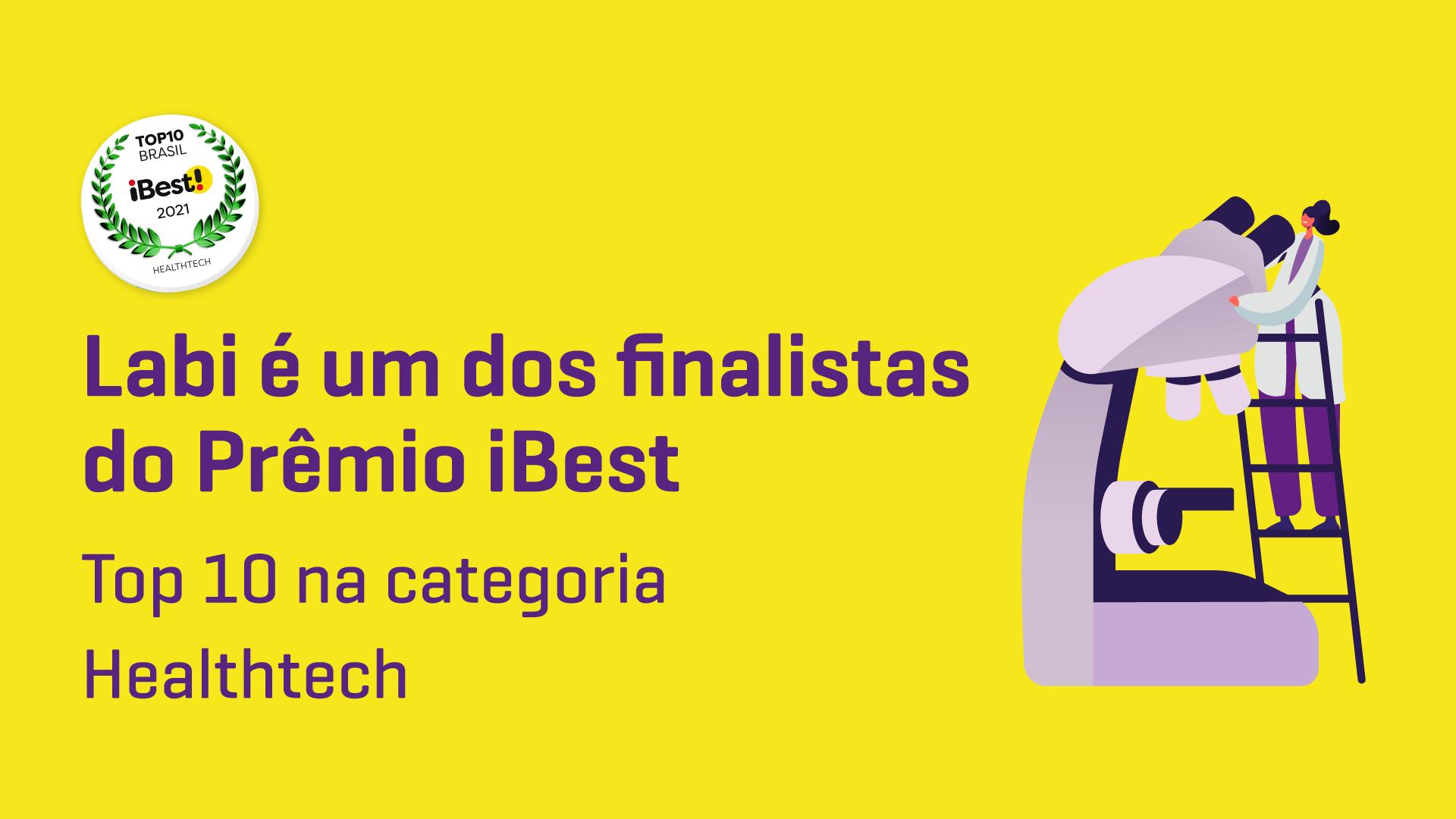 Labi é um dos finalistas do Prêmio iBest